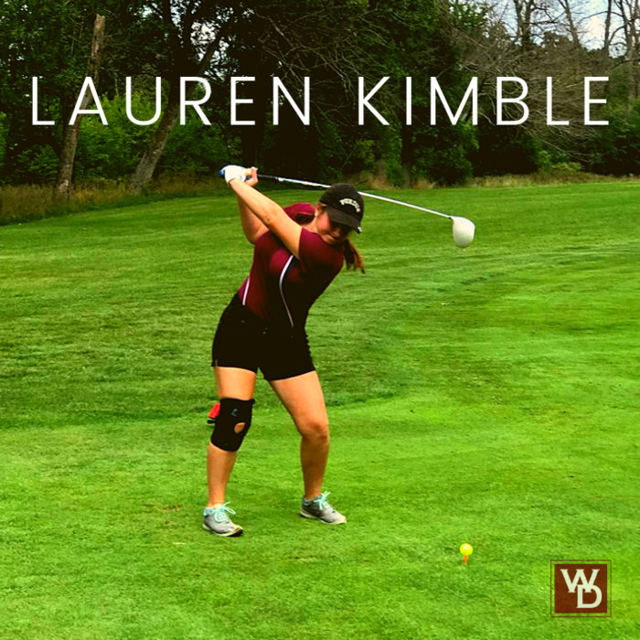 Warrior Golfer Lauren Kimble