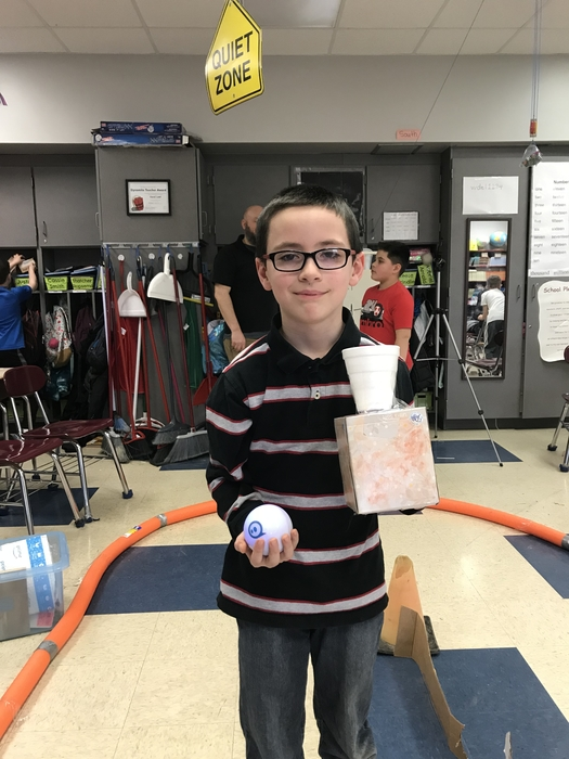 3rd Grade Sphero Chariot Race Winner
