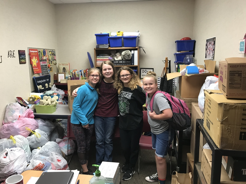 These awesome fifth grade group are helping many others at a Better Way!  Way to go Warrior Ladies!
