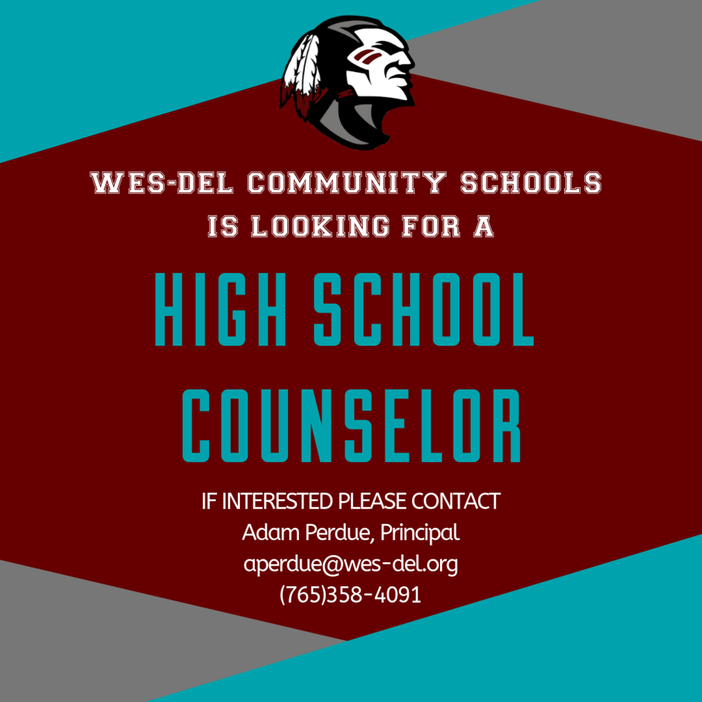 HS Counselor Announcement