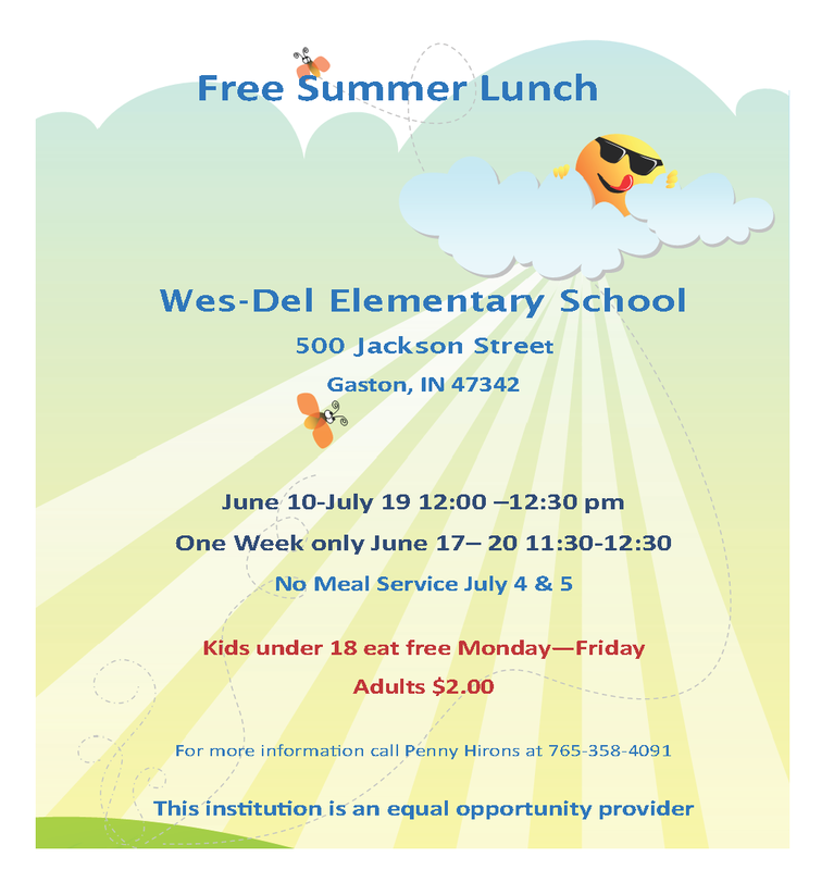 Free Summer Lunch!